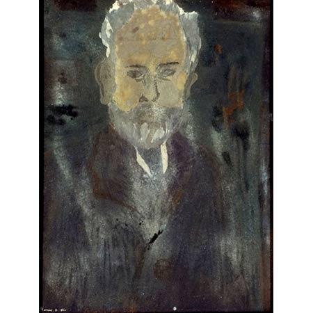 Tchaikovsky 1964 Poster paint on paper, 28 x 19cm